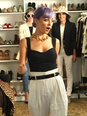 Watch Nicole Richie Wreak Havoc in the Who What Wear Office