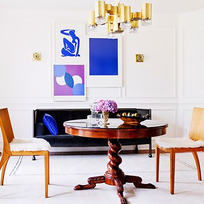Tour a Designer's Own Luxe, Eclectic Virginia Home