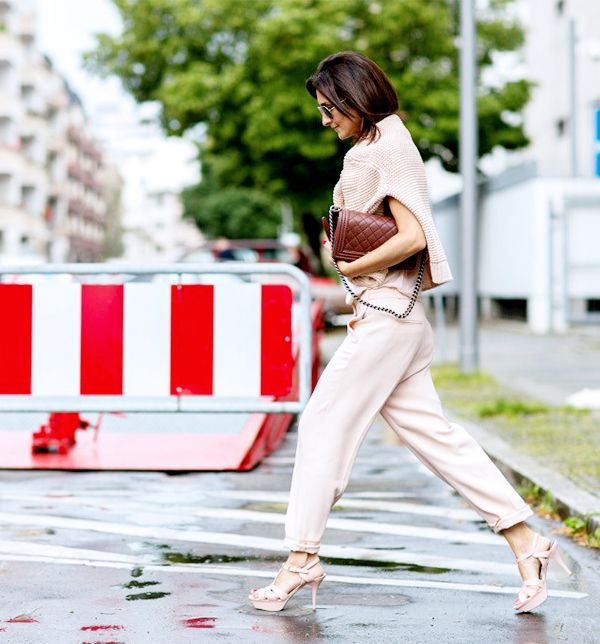 street style office outfit