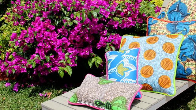Miami Heat: A Globally Conscious Pillow Collection