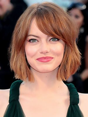 Emma Stone's Eggplant Eye Shadow Has Us Excited For Fall