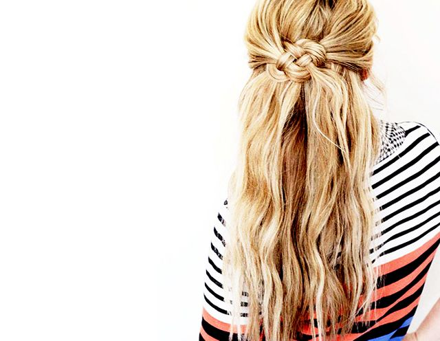 6 Easy Labour Day Hairstyles—No Labour Required