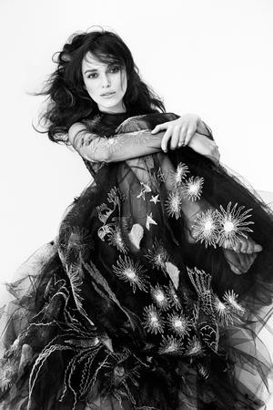 Keira Knightley's Dark And Romantic Spread For Interview Magazine