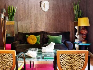 Inside a Bold and Colorful Small Space