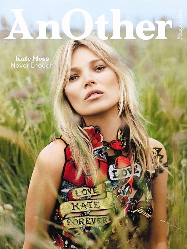 Kate Moss Looks Stunning on Four New Magazine Covers