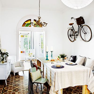 Shop the Room: Eclectic, Rustic Dining in Barcelona