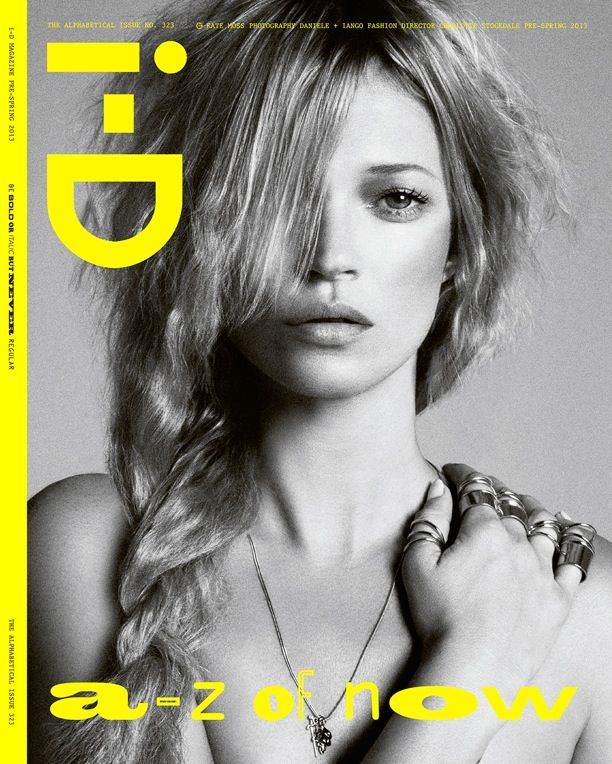Kate Moss | I-D Pre-Spring 2013 Covers