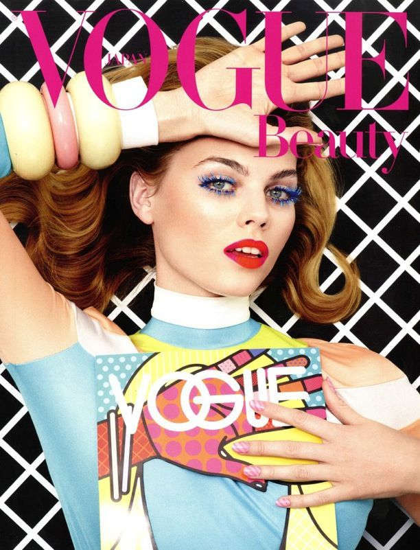 Comic Book Beauty | Vogue Japan