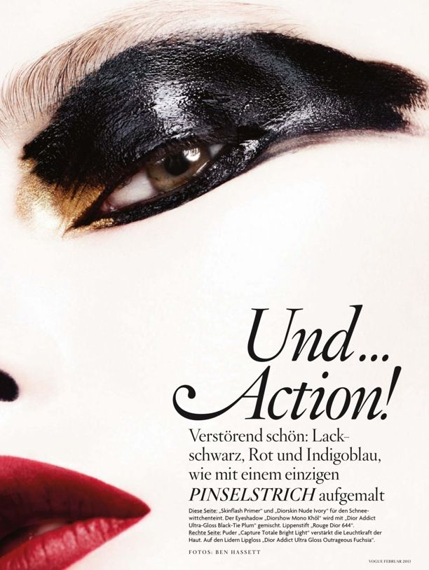 And Action...   Vogue Germany