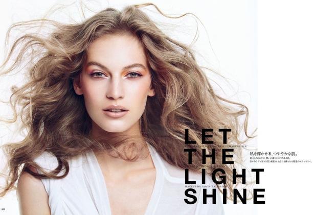 Let The Light Shine | Vogue Japan