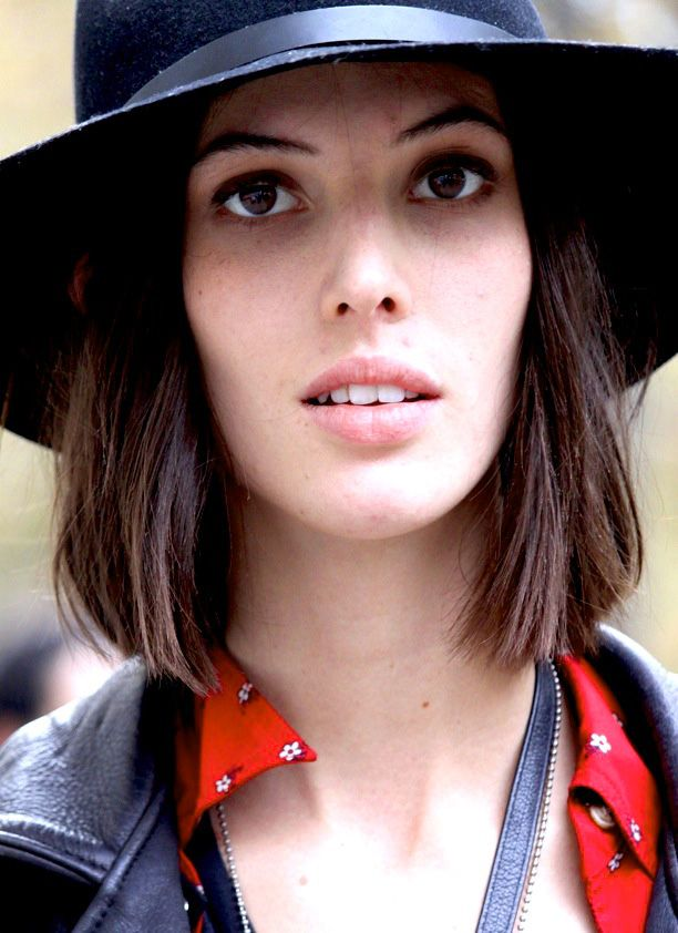 Street Style: Leather Trimmed Hats