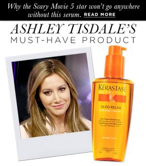 Ashley Tisdale's Prized Product
