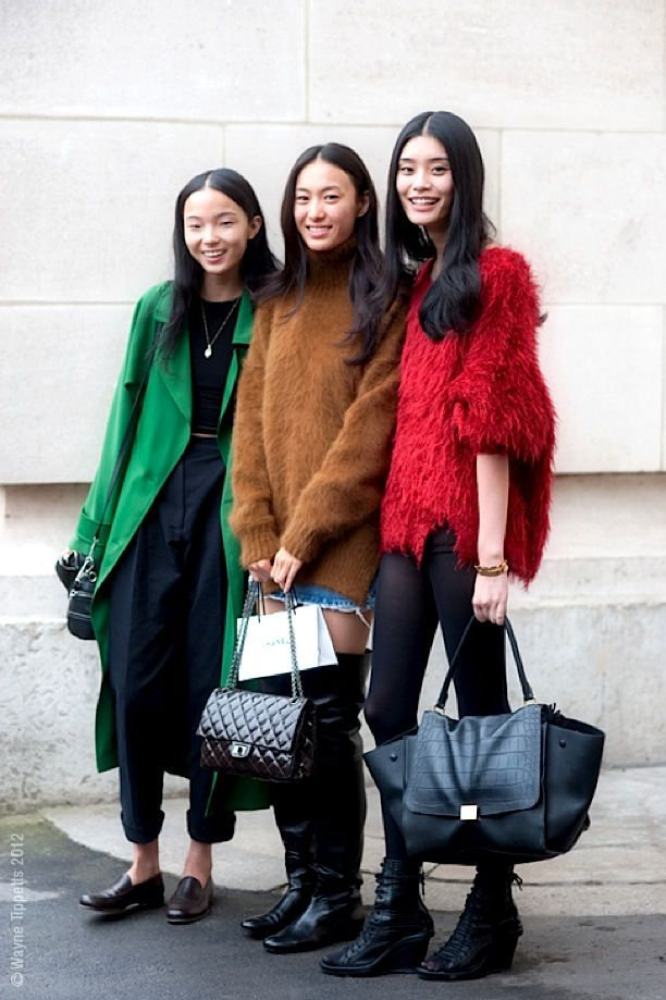 Street Style: Fuzzy Knits
