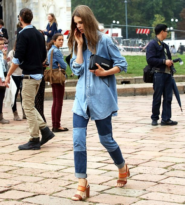 Street Style: Denim on Denim