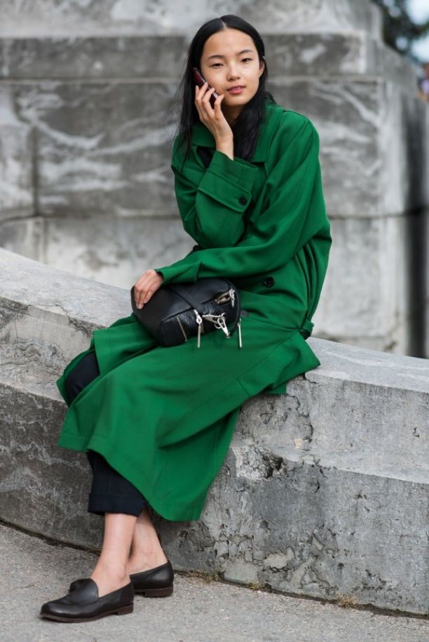 Street Style: Great Greens