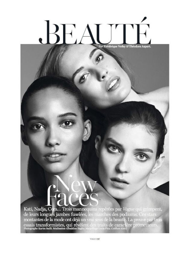 New Faces | Vogue Paris