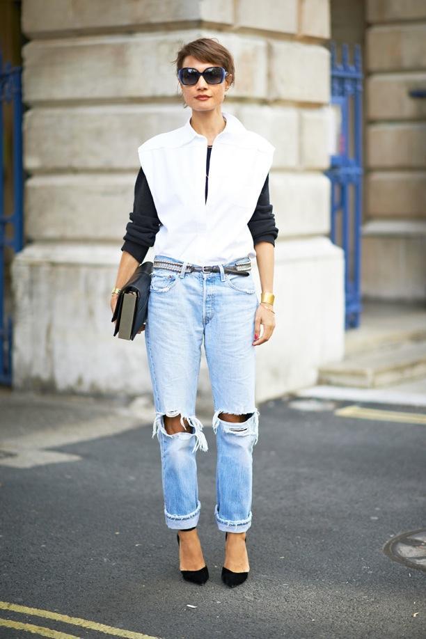 Street Style: Boyfriend Jeans
