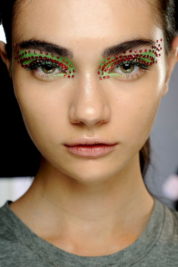 PFW Beauty: Jeweled Eyes | Christian Dior S/S 2013