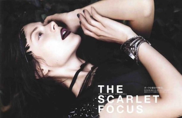The Scarlet Focus | Vogue Nippon