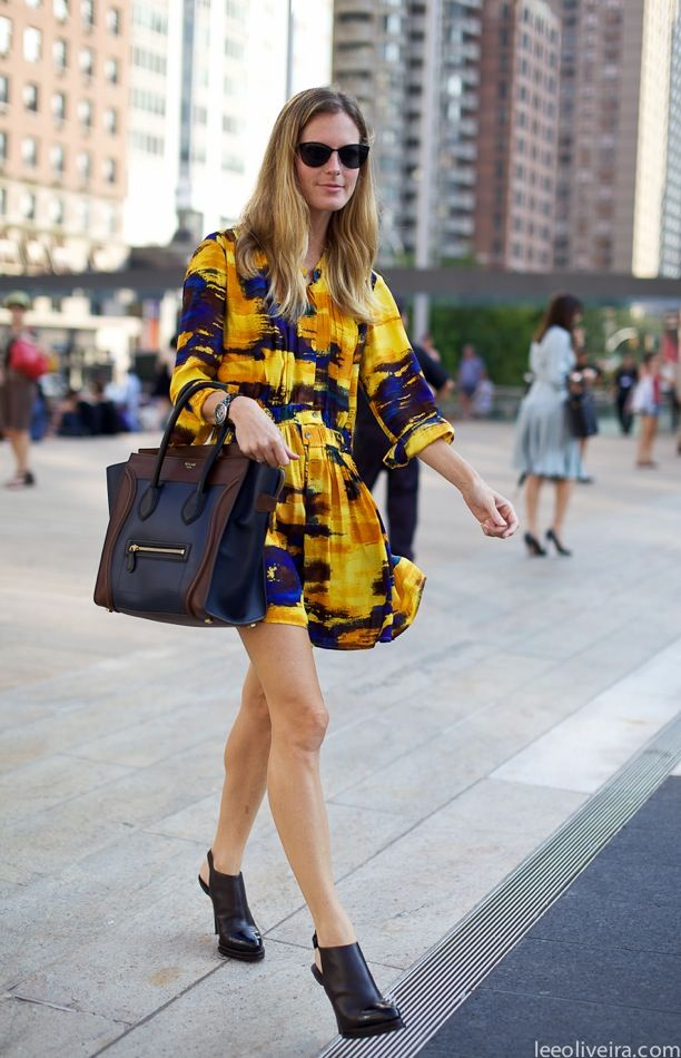 Street Style: Easy Print Dresses