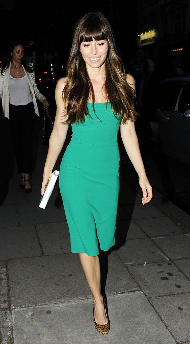 Look of the Day: Green Frock