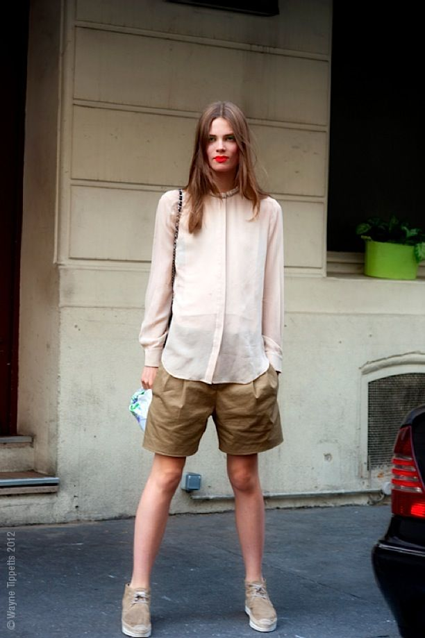 Street Style: Longer Shorts