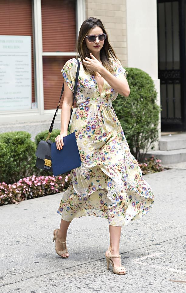 Look of the Day: Floral Sundress