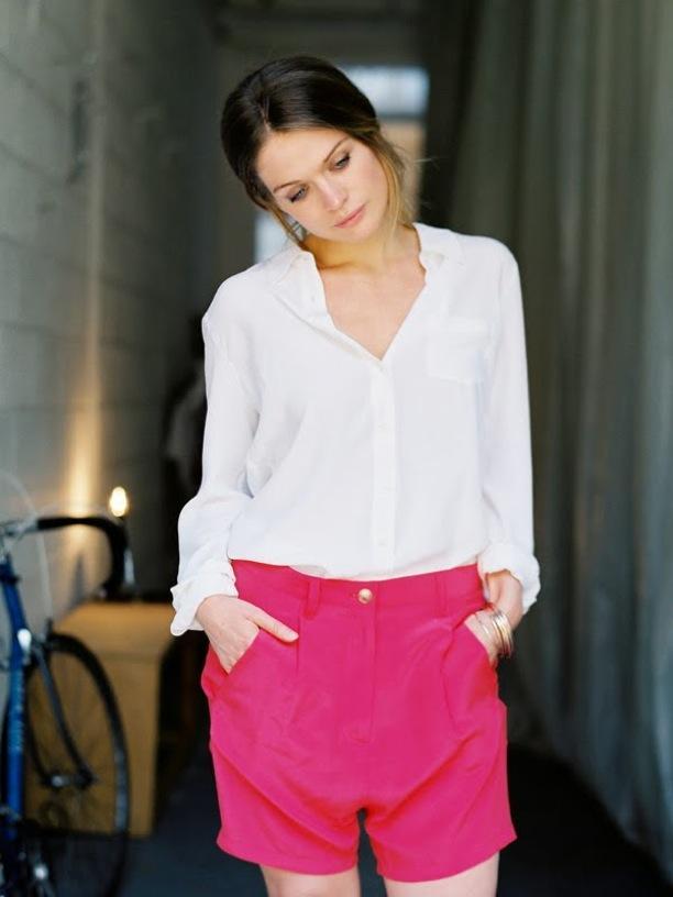 Street Style: Bright Shorts
