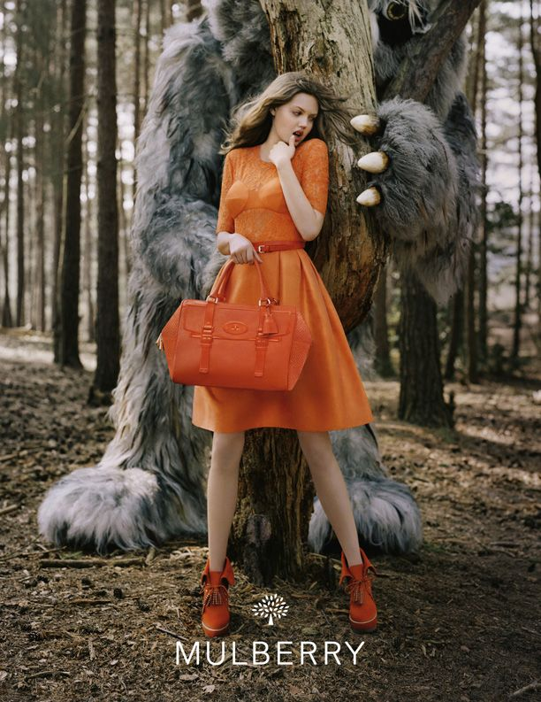 Mulberry A/W 2012 Campaign