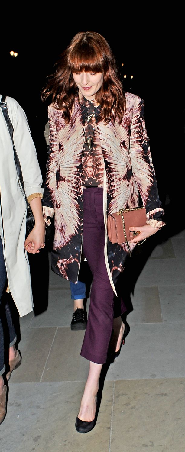 Look of the Day: Mirror Print Jacket