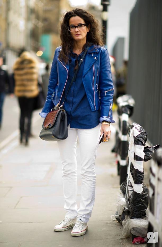 Street Style: Cobalt