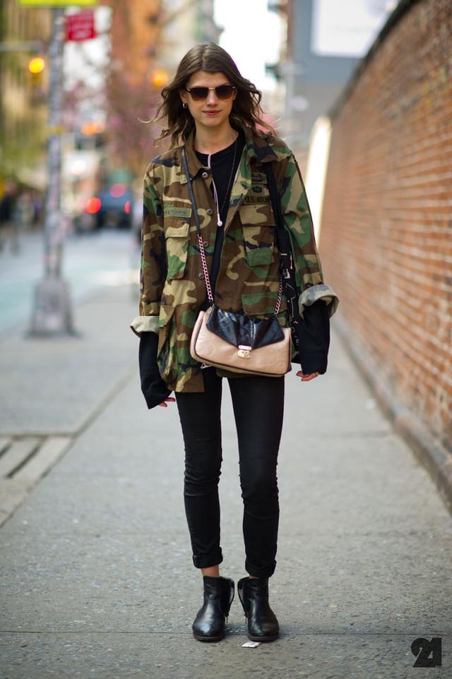 Street Style: Camo Print