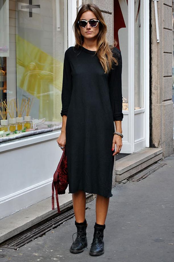 Street Style: Easy Black