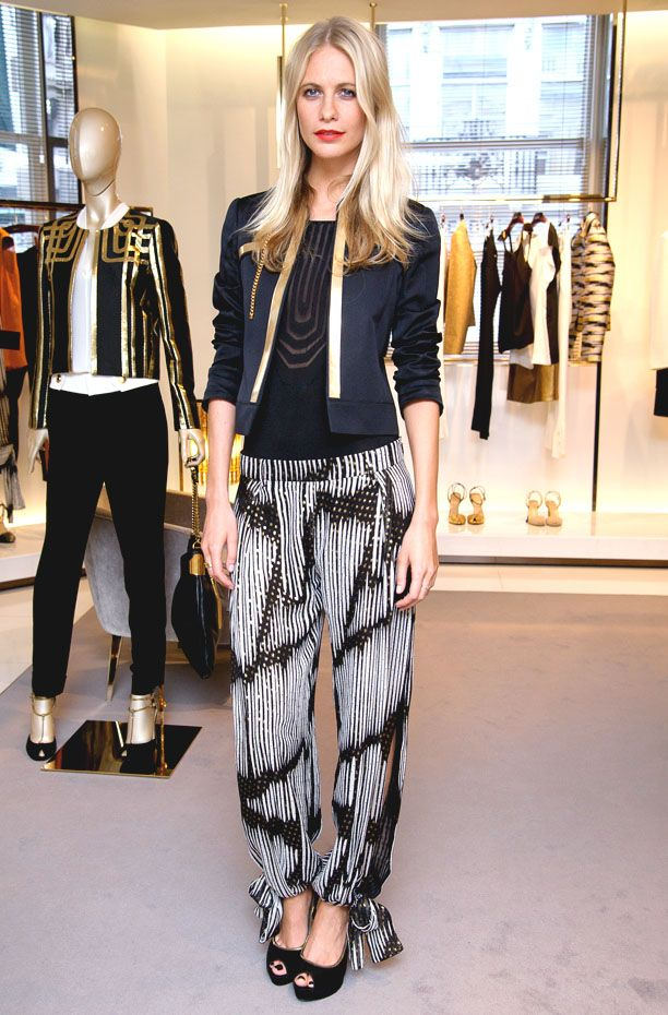 Look of the Day: Print Pants