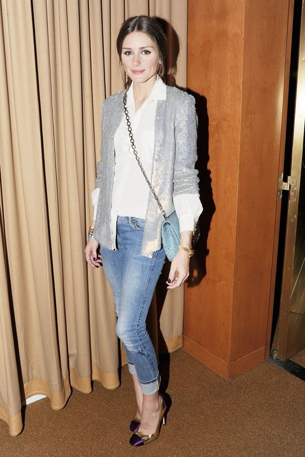 Look of the Day: Sequin Blazer