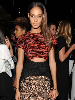 Joan Smalls Kicks Off Fashion Week in Our Dream Fall Dress