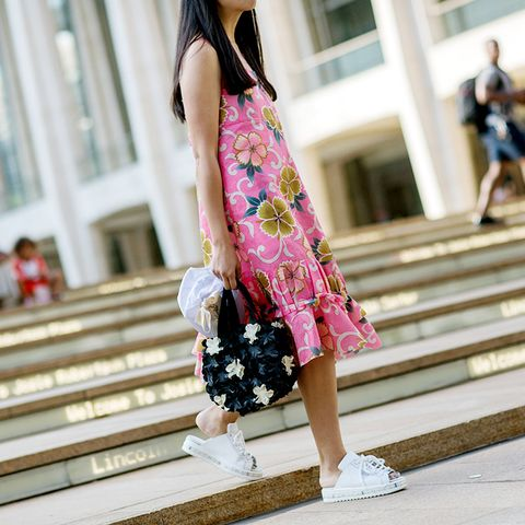 Street style pink dress susie bubble
