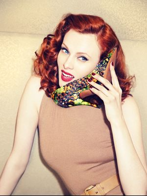 Exclusive: Model Karen Elson Stuns in New Palter DeLiso Campaign