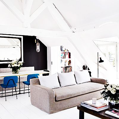 Tour a Stylish Parisian Duplex with a Modern Vision