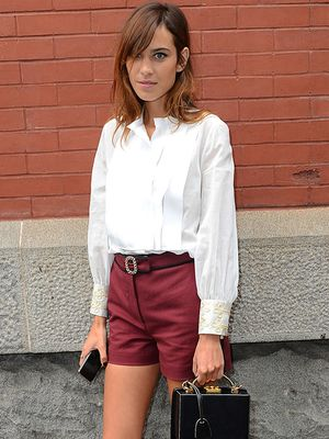 Runway To Real Way: Alexa Chung in Tommy Hilfiger S/S 15