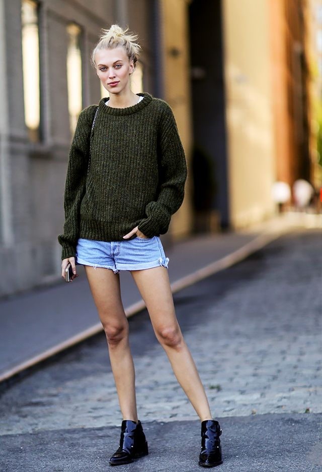 The Best Ways to Wear Your Favorite Sweaters Before It Gets Chilly