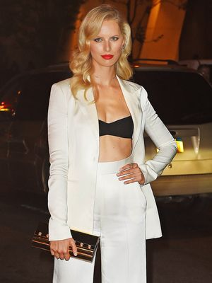 Karolina Kurkova Walks Us Through Her Chicest Looks From NYFW