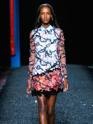 Mary Katrantzou S/S 15: A Vibrant Homage To Nature