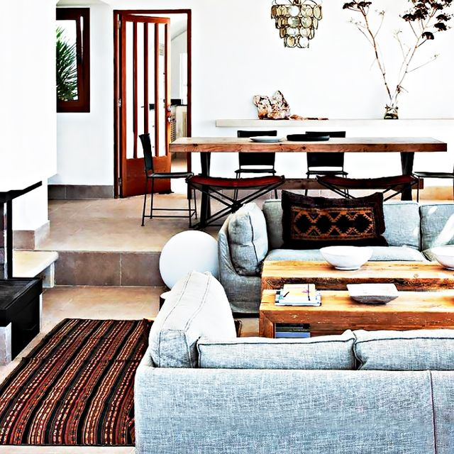Shop the Room: An Eclectic Mediterranean Living Room