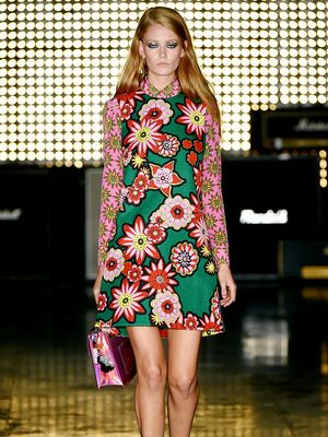 House of Holland's S/S 15 Collection Redefines Flower Power