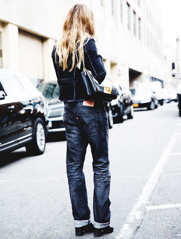 Get the Look: Levi's Made & Crafted Marker Boyfriend Jeans ($495)