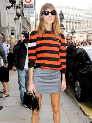 Alexa Chung Shows Us How to Master the Miniskirt