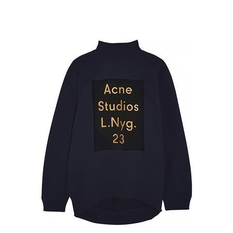 Beta Printed Cotton-Blend Jersey Sweatshirt