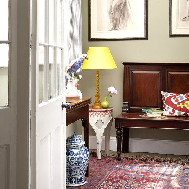 Shop the Room: A Traditional Entry Infused With Color