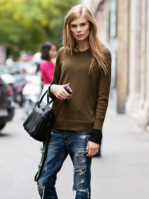 Tip of the Day: The Low-Key Way to Wear Ripped Jeans